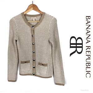 BANANA REPUBLIC Cardigan Sweater Sz XS $89!